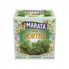 Chá Hortelã Marata 10g 10 Saquinhos