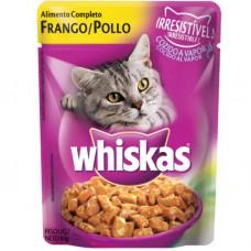 Whiskas Frango ao Molho 85g