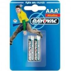 Pilhas Rayovac AAA2 Alcalina