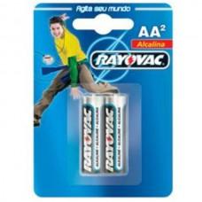 Pilhas Rayovac AA2 Alcalina
