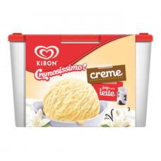 Sorvete Kibon Cremosissimo Creme 1,5L