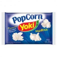 Pipoca para Microondas Manteiga Yoki 100g