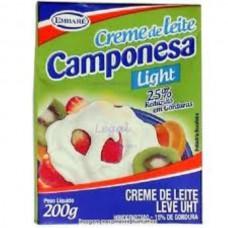 Creme de Leite Light Camponesa 200g