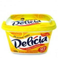 Margarina Delicia Com Sal 500g