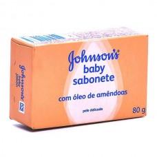 Sabonete Johnsons Óleo de Amêndoas 80g