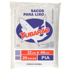 Saco Para Lixo Tubarão Pia 20und.